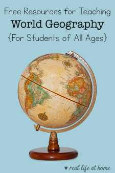 Need some free world geography resources? Don't miss this list of websites, printables, games, books and other ideas for you to utilize at school or home.