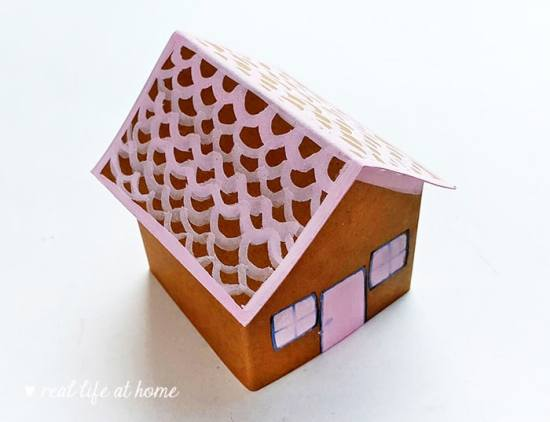Gingerbread Craft Assembly Directions from Real Life at Home