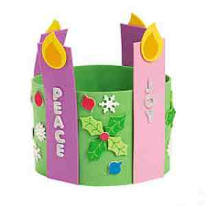 Advent Wreath Craft