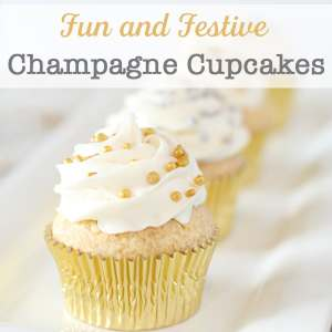 Need cupcakes for New Year's Eve, a bridal shower, or a special event? These easy Champagne Cupcakes could be the perfect addition to your celebration!