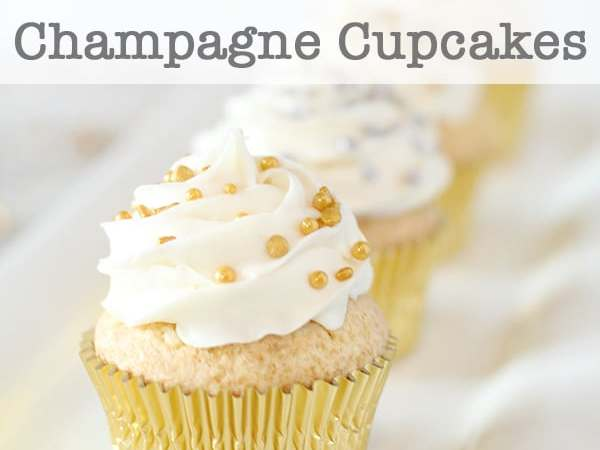 Fun and Festive Champagne Cupcakes Recipe