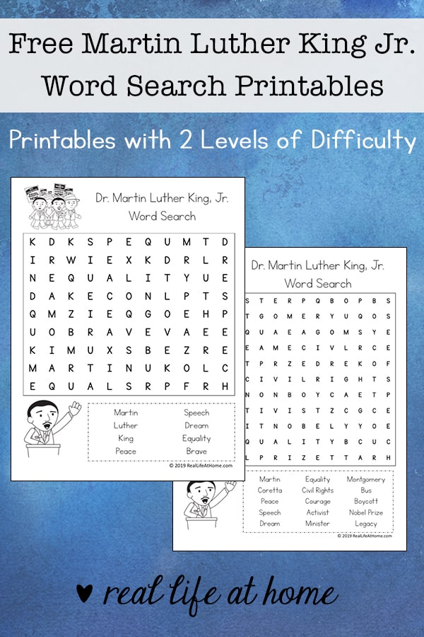 graphic regarding Martin Luther King Word Search Printable identify Absolutely free Martin Luther King Jr. Phrase Glance Printable for Youngsters