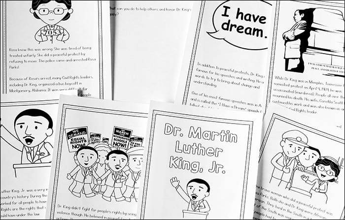 - Dr. Martin Luther King Jr. Printable Book For 2nd - 5th Grade