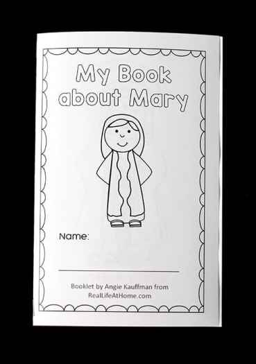 Free Mary Coloring Book for Catholic Kids