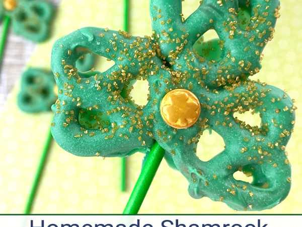 Homemade Shamrock Pretzel Pops – Fun St. Patrick's Day Snack