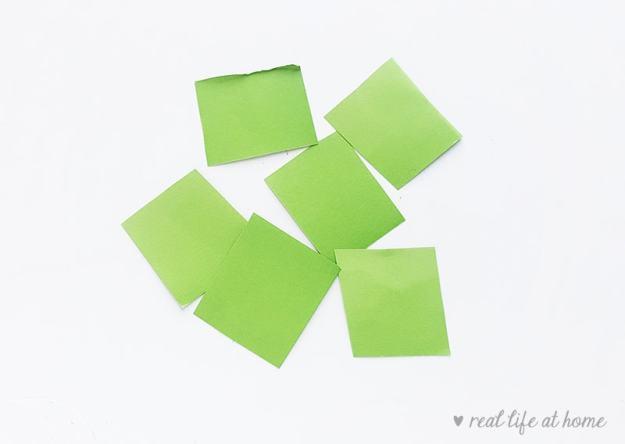 Shamrock Paper Craft - Step 2 | Real Life at Home