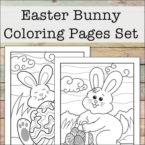 North Texas KidsEaster Bunny Coloring Pages | North Texas Kids | 600x600