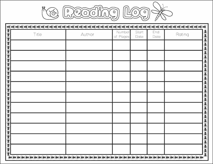 photo relating to Free Printable Reading Logs titled Totally free Printable Bug Bookmarks and Looking at Log for Young children