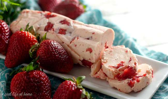 Recipe for Homemade Strawberry Butter from Real Life at Home