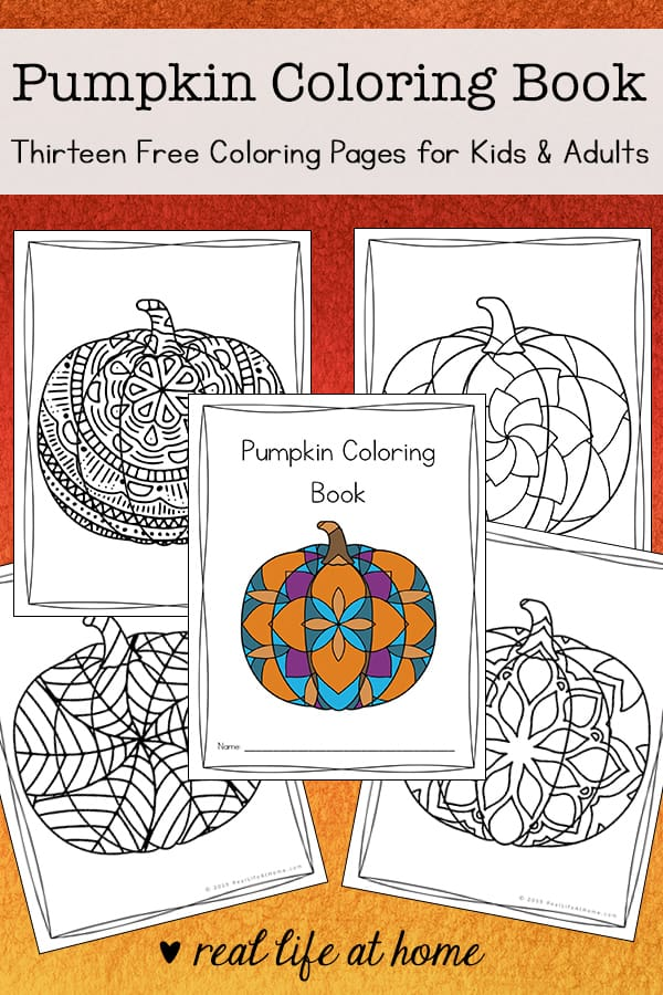 - Pumpkin Coloring Pages (Free Printable Pumpkin Coloring Book)