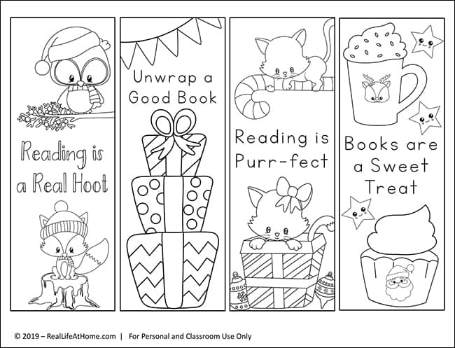 This is a picture of Free Printable Bookmarks to Color pertaining to owl