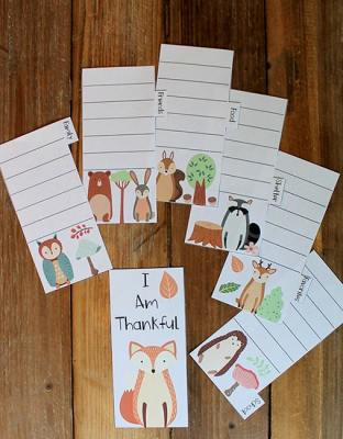 I Am Thankful Printable Book from Real Life at Home