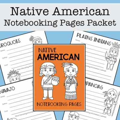 Native American Tribes Mini Report Templates