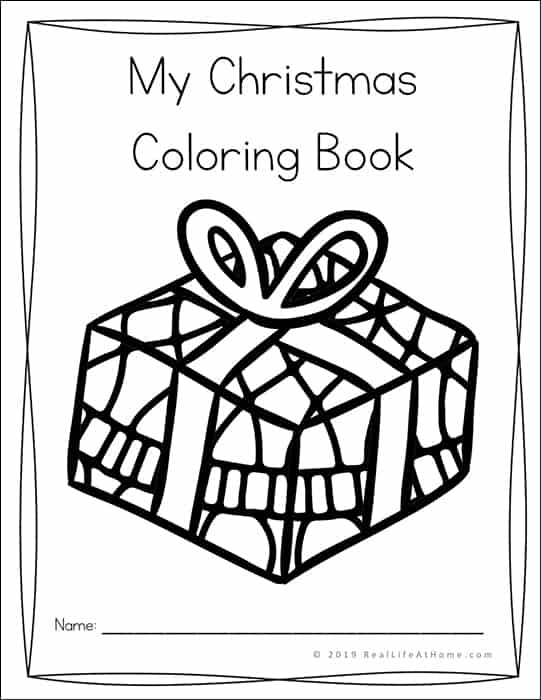 Childrens Christmas Coloring Pages
