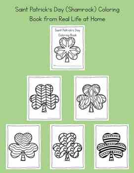 Shamrock Coloring Pages for Kids and Adults