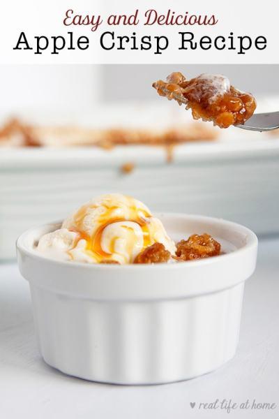 Easy and Delicious Apple Crisp Recipe