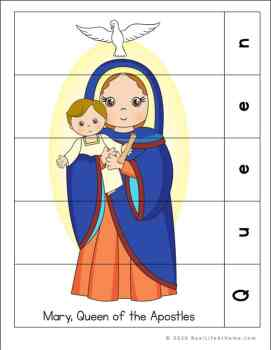 Mary, Queen of the Apostles Puzzle Page