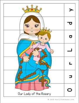 Our Lady of the Rosary Puzzle Page