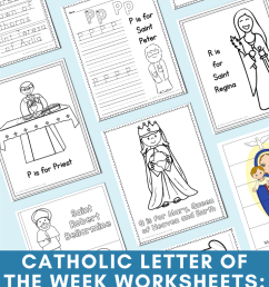Catholic Letter of the Week Worksheets and Coloring Pages for P - T [ 1102 x 735 Pixel ]