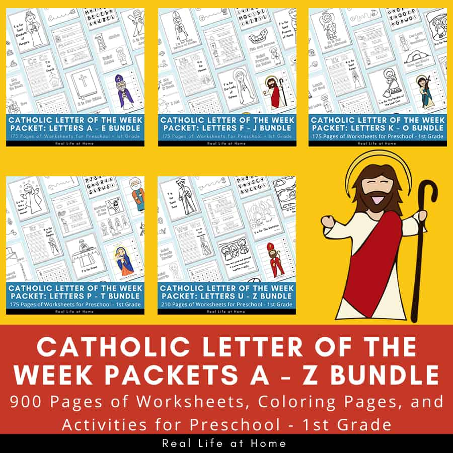 hight resolution of Catholic Letter of the Week Worksheets and Coloring Pages for K - O