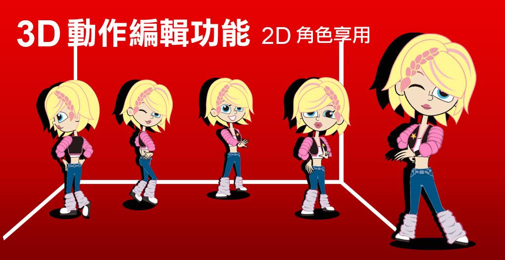 CrazyTalk Animator2 – 2D動畫製作軟體