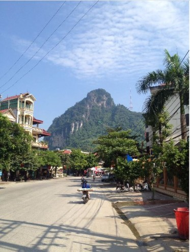ha giang in the morning