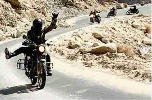 high altitude motorbike touring india