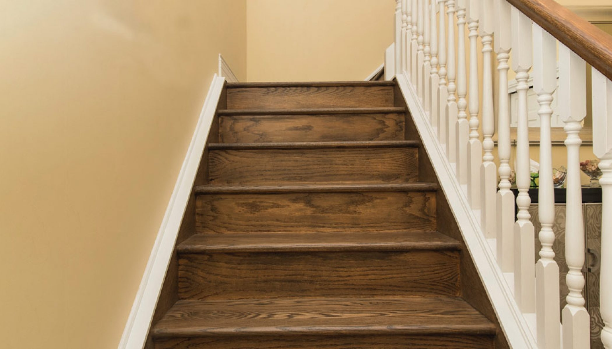 You Want To Install Hardwood On Stairs – Reallycheapfloors | Unfinished Hickory Stair Treads | Hardwood Lumber | Stair Nosing | Stainable | Flooring | Prefinished