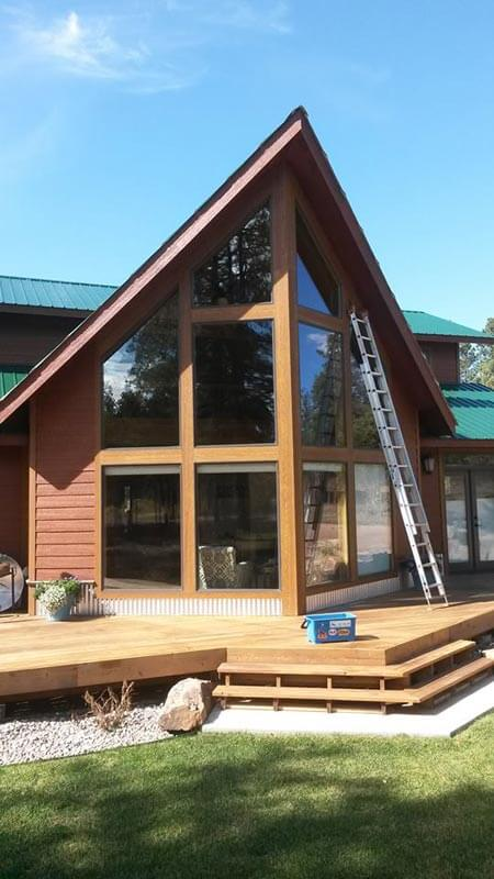 Triangle Home Deck Windows