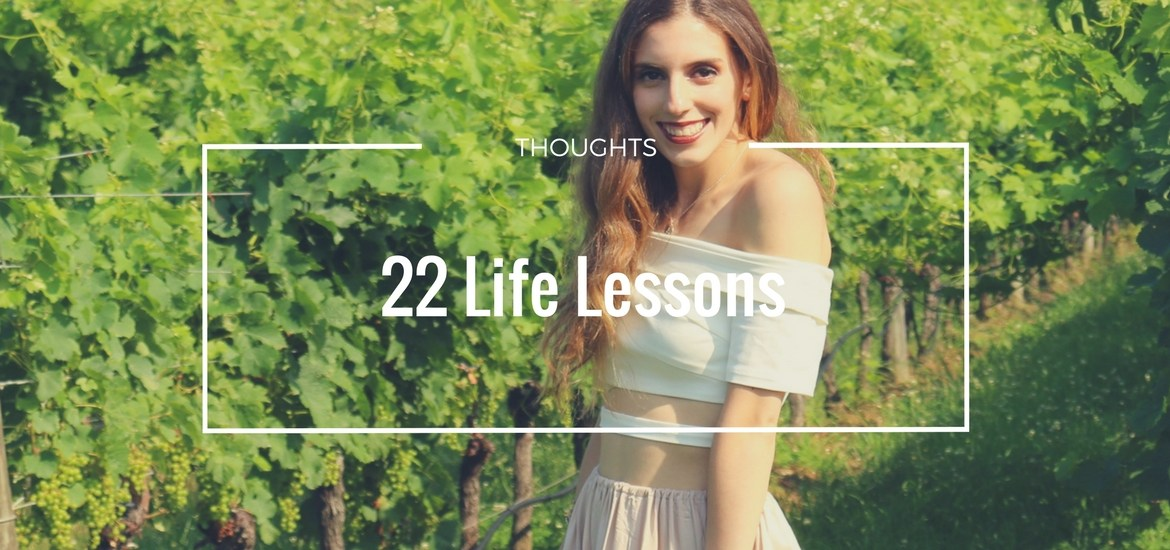 22 Life Lessons