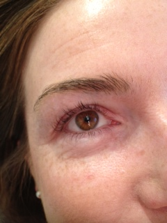 Lash Root Lift and Colour Boost: Before