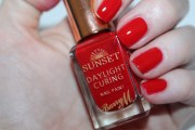 barry sunset nail paint & topcoat