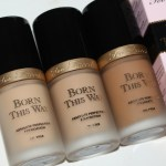 Too Faced Born This Way Foundation Review Swatches Really Ree
