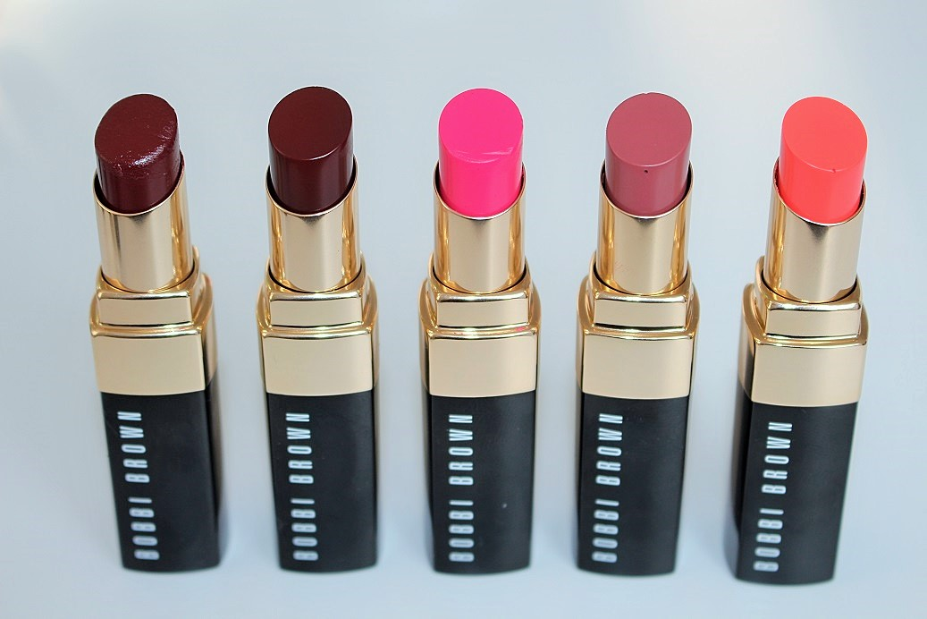 Bobbi Brown Nourishing Lip Color Oil Infused Shine Swatches