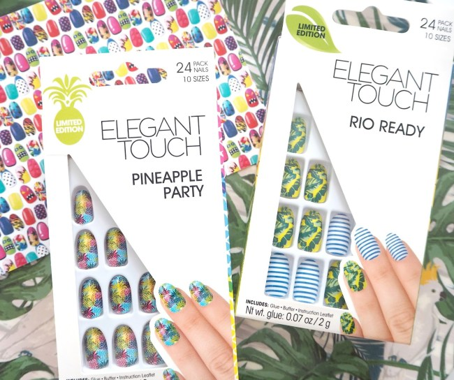 Rio Inspired Elegant Touch Nails