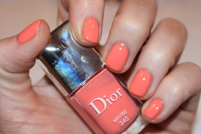Dior Nails Spring 2017 - Maybe Swatch