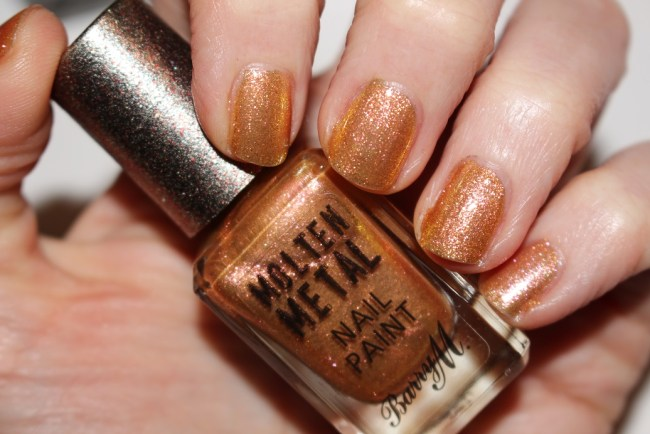 Barry M Molten Metal Nail Paint Spring 2017