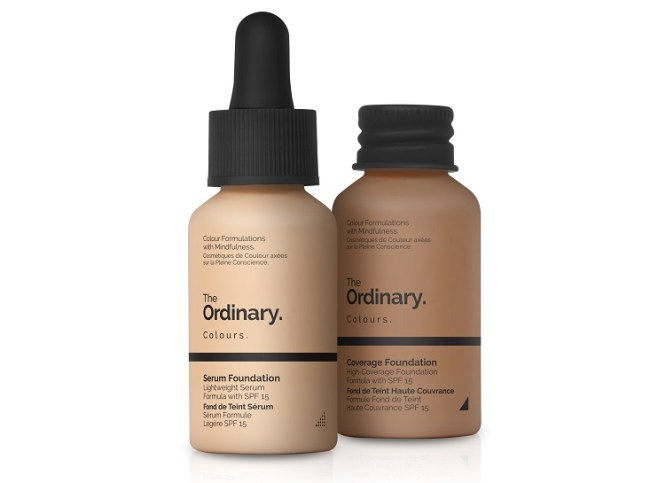 The Ordinary Colours Coverage Foundation & Serum Foundation