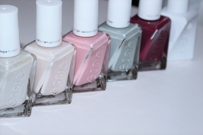 Essie Gel Couture Bridal Collection by Monique Lhuillier