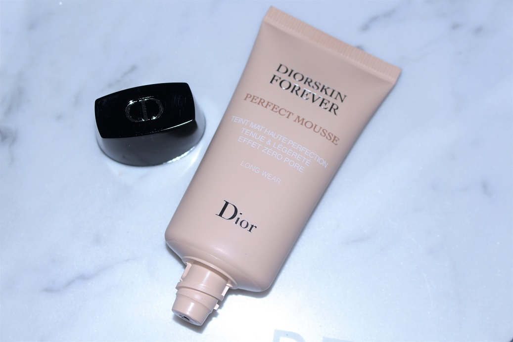 Diorskin Forever Perfect Mousse Foundation Review Before