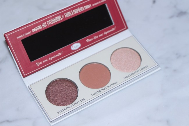6e80573d737 theBalm Smoke Balm Vol 4 Foiled Eyeshadow Palette Review & Swatches