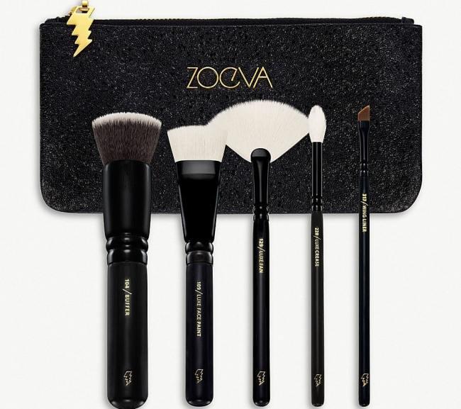 Best Christmas Makeup Brush Sets 2018 - Zoeva