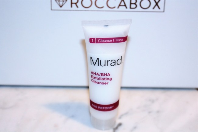 Roccabox X Really Ree - Murad AHA BHA Cleanser