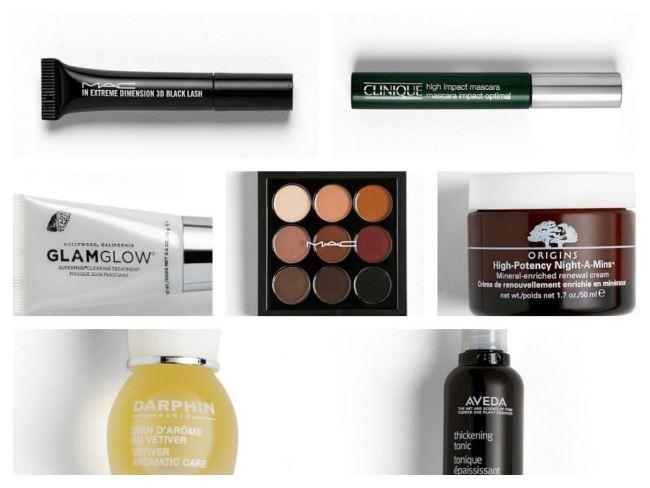 Lulu Guinness X Look Fantastic Makeup Bag Contents
