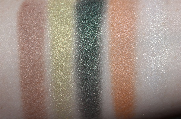 Luxuriant Haven Couture Collector Palette Swatches