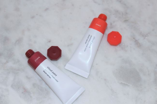Glossier Cloud Paint Storm and Dawn