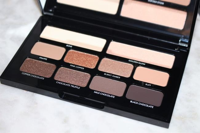 Bobbi Brown Nude on Nude Eye Palette Bronzed Nudes Edition