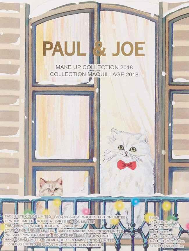 Beauty Advent Calendars 2018 - Paul & Joe