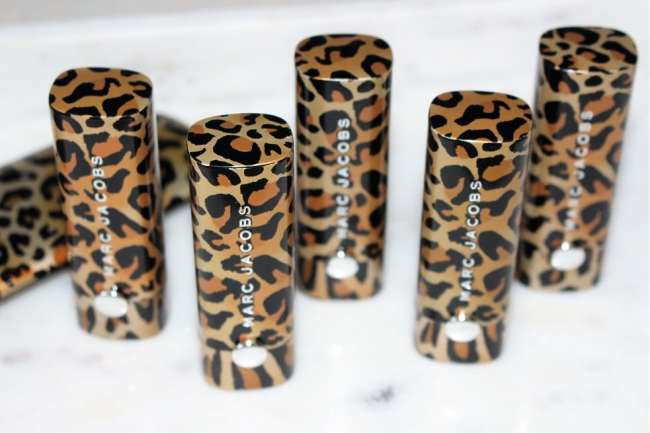 Marc Jacobs Leopard Frost Lipstick Collection