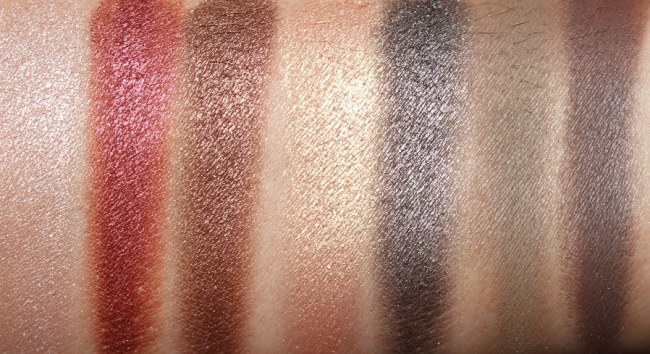 Marc Jacobs Leopard Frost Palette Swatches